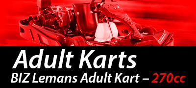 Adult karting Nottingham Raceway