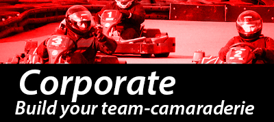Corporate team building karting Nottingham Raceway