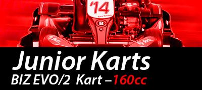 Junior karting Nottingham Raceway