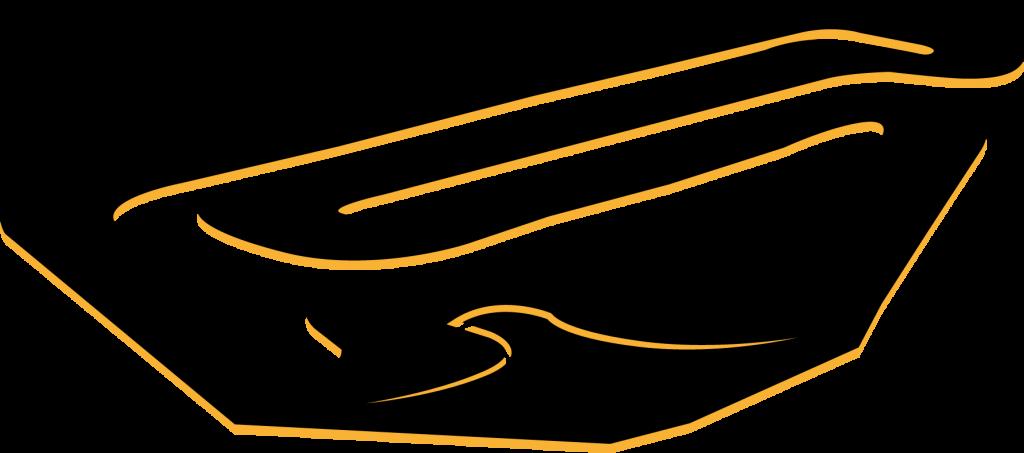 track-outline