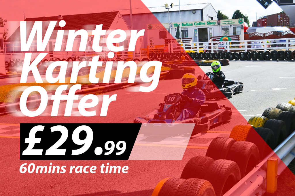 winter karting offer Nottingham